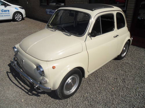 1969 Totally Original Fiat 500L For Sale (picture 1 of 6)