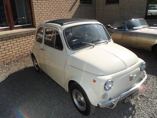 1969 Totally Original Fiat 500L For Sale (picture 4 of 6)