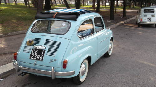 1960 Fiat 600 trasformabile convertible For Sale (picture 2 of 6)