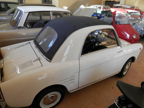 1962 Autobianchi Transformabile Fiat 500 Microcar Messerschmitt For Sale (picture 1 of 6)