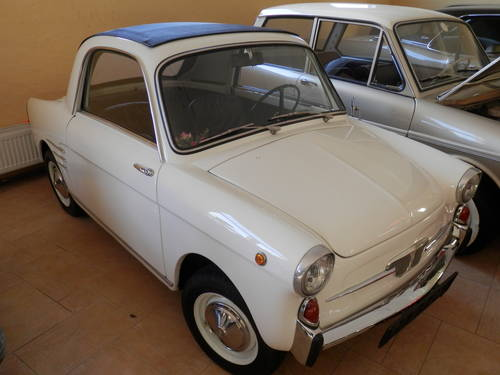 1962 Autobianchi Transformabile Fiat 500 Microcar Messerschmitt For Sale (picture 2 of 6)