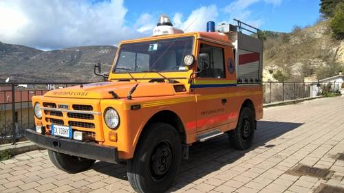 1976 Fiat Campagnola AR76 4X4 Forest Ranger Fire Truck For Sale (picture 1 of 6)