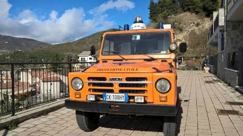 1976 Fiat Campagnola AR76 4X4 Forest Ranger Fire Truck For Sale (picture 2 of 6)