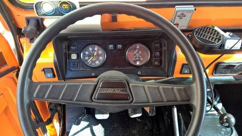 1976 Fiat Campagnola AR76 4X4 Forest Ranger Fire Truck For Sale (picture 4 of 6)