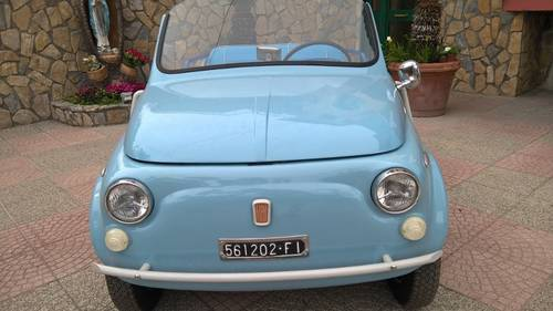 1969 Fiat 500 Jolly in Like New Condition First in Show MOT incl. For Sale (picture 2 of 6)