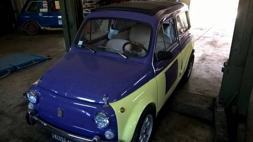 1972 Autobianchi Fiat 500 Bianchina Giardiniera GREAT DRIVER For Sale (picture 3 of 6)