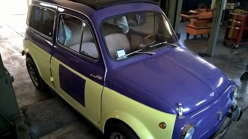 1972 Autobianchi Fiat 500 Bianchina Giardiniera GREAT DRIVER For Sale (picture 4 of 6)