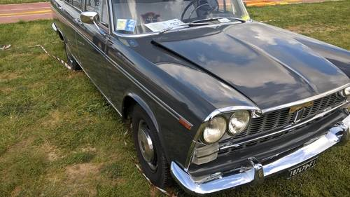 1962 Fiat 2300 Berlina original paint NEVER RESTORED For Sale (picture 3 of 6)