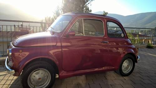 1971 Fiat 500L Just Restored with Abarth Wheels and Skirt kit  For Sale (picture 1 of 6)