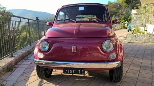 1971 Fiat 500L Just Restored with Abarth Wheels and Skirt kit  For Sale (picture 2 of 6)