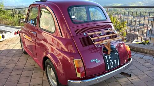 1971 Fiat 500L Just Restored with Abarth Wheels and Skirt kit  For Sale (picture 4 of 6)