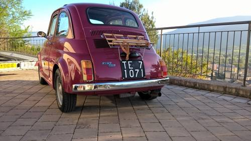 1971 Fiat 500L Just Restored with Abarth Wheels and Skirt kit  For Sale (picture 6 of 6)