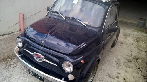 1970 Fiat 500TV Giannini ORIGINAL COLLECTIBLE For Sale (picture 1 of 6)