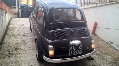 1970 Fiat 500TV Giannini ORIGINAL COLLECTIBLE For Sale (picture 4 of 6)