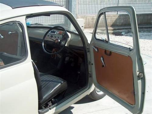 1968 Fiat 500F ORIGINAL RHD in Like New Condition For Sale (picture 2 of 6)