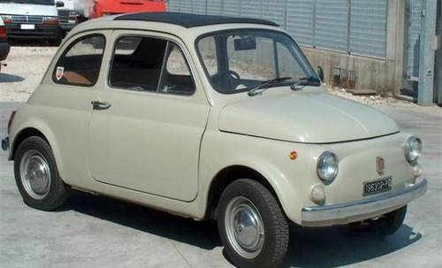 1968 Fiat 500F ORIGINAL RHD in Like New Condition For Sale (picture 3 of 6)