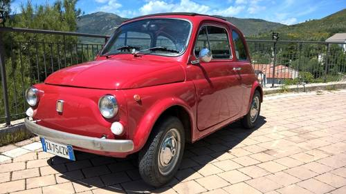 1970 Fiat 500L ORIGINAL RHD Restored in 2009 For Sale (picture 1 of 6)