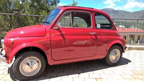 1970 Fiat 500L ORIGINAL RHD Restored in 2009 For Sale (picture 2 of 6)