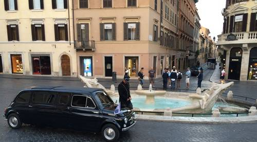 1964 Fiat 500D Limousine Used in the Zoolander 2 Movie For Sale (picture 1 of 6)