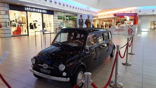 1964 Fiat 500D Limousine Used in the Zoolander 2 Movie For Sale (picture 4 of 6)