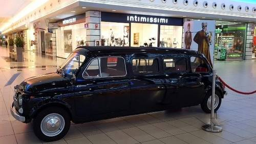 1964 Fiat 500D Limousine Used in the Zoolander 2 Movie For Sale (picture 5 of 6)