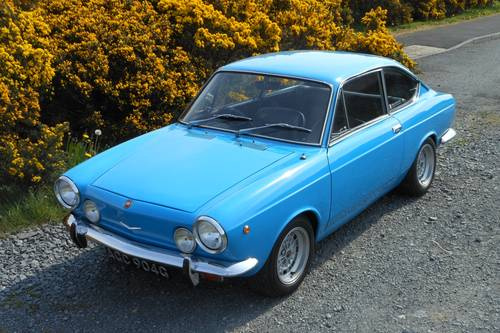 1969 fiat 850 sport coupe s2 sold car and classic. Black Bedroom Furniture Sets. Home Design Ideas