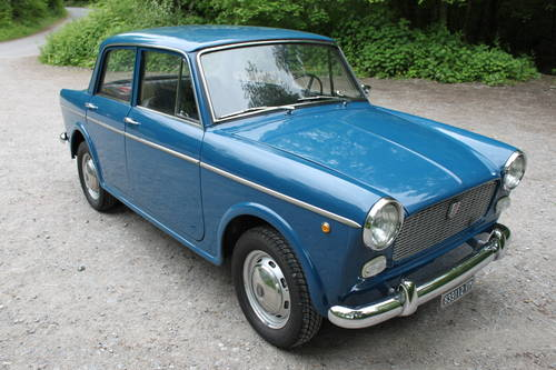 1962 Fiat 1100 D *** Italian Import *** Fully Restored ***  For Sale (picture 1 of 6)