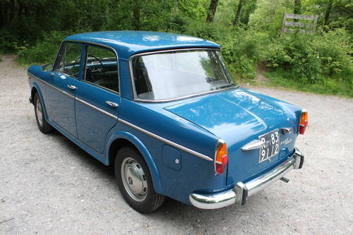 1962 Fiat 1100 D *** Italian Import *** Fully Restored ***  For Sale (picture 2 of 6)