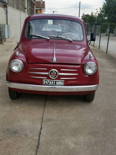 1955 VERY RARE 600 FIRST SERIE For Sale (picture 1 of 6)
