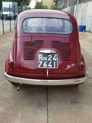 1955 VERY RARE 600 FIRST SERIE For Sale (picture 3 of 6)