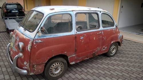 1959 Fiat 600D Multipla FIRST SERIES NUMBERS MATCHING For Sale (picture 1 of 6)