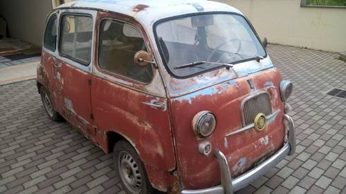 1959 Fiat 600D Multipla FIRST SERIES NUMBERS MATCHING For Sale (picture 2 of 6)