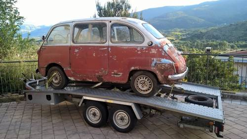 1959 Fiat 600D Multipla FIRST SERIES NUMBERS MATCHING For Sale (picture 3 of 6)