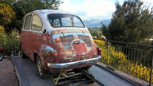 1959 Fiat 600D Multipla FIRST SERIES NUMBERS MATCHING For Sale (picture 4 of 6)