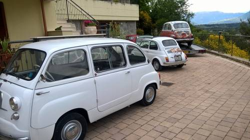 1959 Fiat 600D Multipla FIRST SERIES NUMBERS MATCHING For Sale (picture 6 of 6)