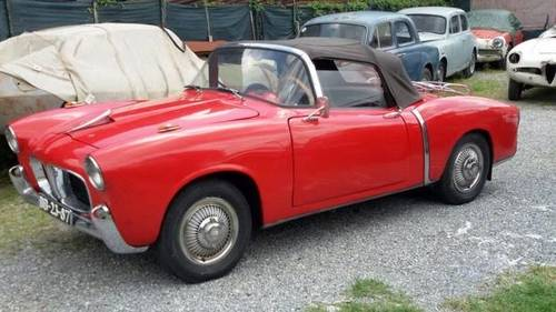 1955 Fiat 1100TV Cabriolet in a well preserved original condition For Sale (picture 1 of 6)