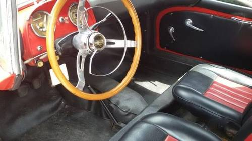 1955 Fiat 1100TV Cabriolet in a well preserved original condition For Sale (picture 2 of 6)