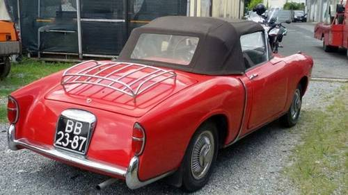 1955 Fiat 1100TV Cabriolet in a well preserved original condition For Sale (picture 3 of 6)