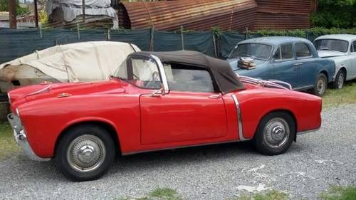 1955 Fiat 1100TV Cabriolet in a well preserved original condition For Sale (picture 5 of 6)