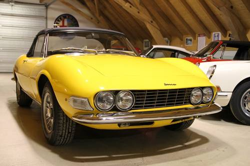 1967 Fiat Dino Spider 2,0 / Very early example / VIN #000078# For Sale (picture 3 of 6)