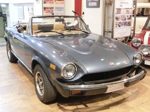 FIAT 124 SPORT SPIDER 2000 CS2 - 1979 For Sale (picture 1 of 6)