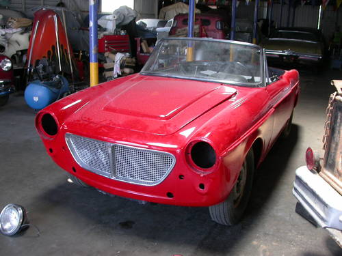 1960 CALIFORNIA PROJECT CAR $6500 SHIPPING INCLUDED For Sale (picture 1 of 6)