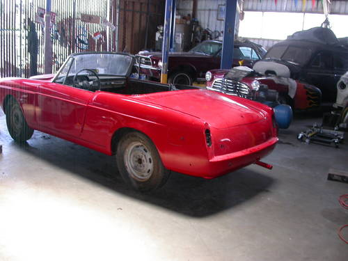 1960 CALIFORNIA PROJECT CAR $6500 SHIPPING INCLUDED For Sale (picture 2 of 6)