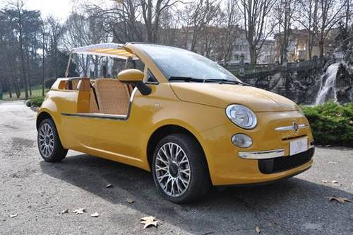 2015 Fiat 500 Jolly Car For Sale (picture 1 of 4)
