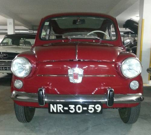 1972 Fiat 600d 80000kms For Sale (picture 1 of 6)