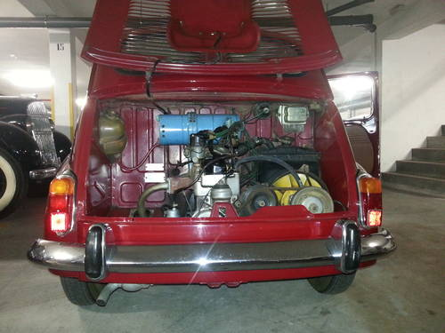 1972 Fiat 600d 80000kms For Sale (picture 3 of 6)