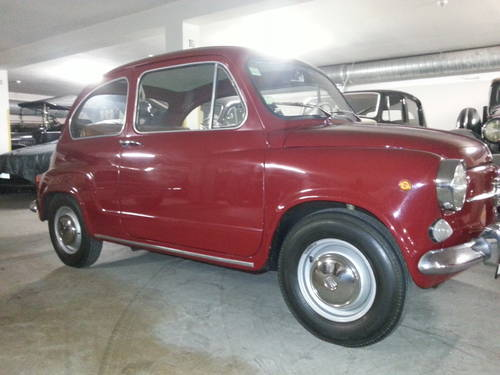1972 Fiat 600d 80000kms For Sale (picture 5 of 6)