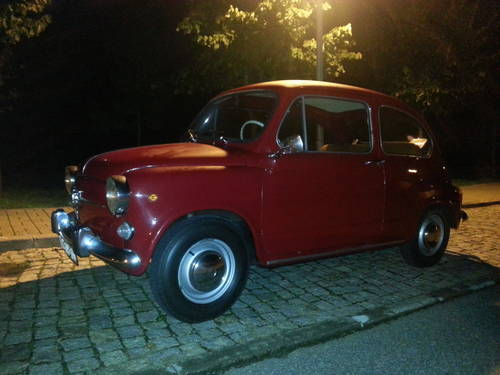 1972 Fiat 600d 80000kms For Sale (picture 6 of 6)