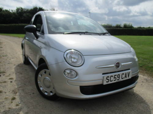 2010 Fiat 500 1.2 POP. £30 annual tax (41862 miles) For Sale (picture 1 of 6)
