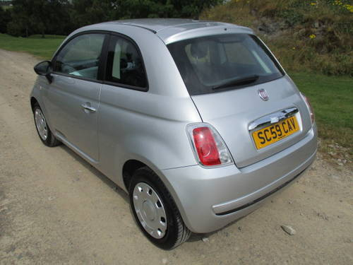 2010 Fiat 500 1.2 POP. £30 annual tax (41862 miles) For Sale (picture 2 of 6)